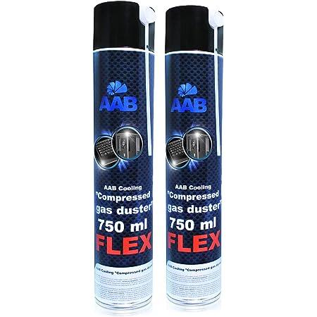 AABCOOLING Compressed Gas Duster FLEX 750ml - Conjunto de 2 ...
