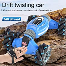 $46 » USVSU Remote Control Stunt Car Gesture Sensing Twisting Vehicle Drift Car for Kids Boys Girls Adults Gifts Driving Toy, 360 Degree Rotation High Speed Off-Road Truck