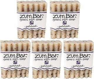 Frankincense Patchouli Zum Bars Multipack (5 Count) by Indigo Wild