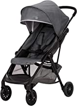 Evenflo Aero Ultra-Lightweight Stroller, Self-Standing Compact Folding Design, 2 Mesh in-Seat Pockets, Large Storage Basket, Flex-Hold Parent Cup-Holder, 50-Pound Capacity, Easy Storage, Dove Gray