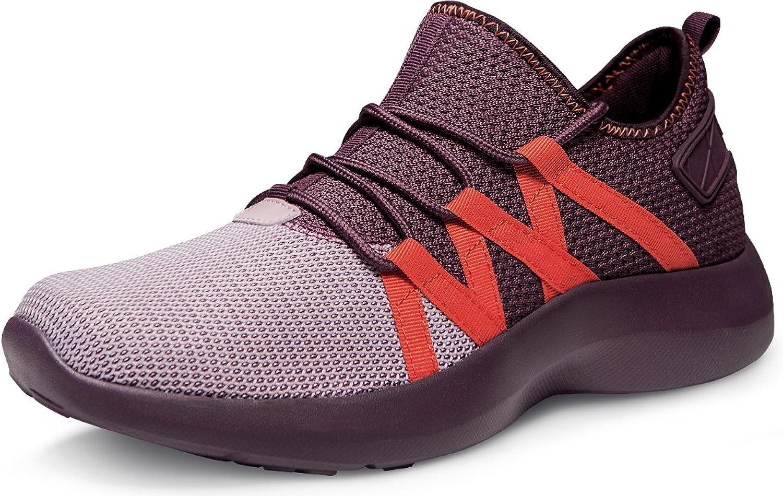 TF-X735-CRR_Men 8 D(M) Tesla Unisex Boost Slip-on Design Running Walking Sneakers Performance shoes X735