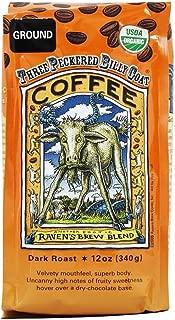 Raven's Brew Auto Drip Grind Three Peckered Billy Goat, Dark Roast - 12-Oz Bag