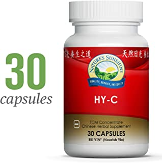Nature's Sunshine HY-C TCM Concentrate, 30 Capsules | Highly Concentrated Blend of 16 Chinese Herbs That Support The Circulatory and Glandular Systems