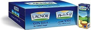 Lacnor Essentials Pineapple Juice, 32 x 180 ml