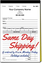 Custom Sales, Invoice, Statement, Estimate, Quote, Personalized Multipurpose Duplicate Carbonless Form with Your Company N...