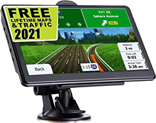 $70 » Sponsored Ad - GPS Navigation for Car, Latest 2021 Map 7 inch Touch Screen Car GPS 256-8GB, Voice Turn Direction Guidance,...