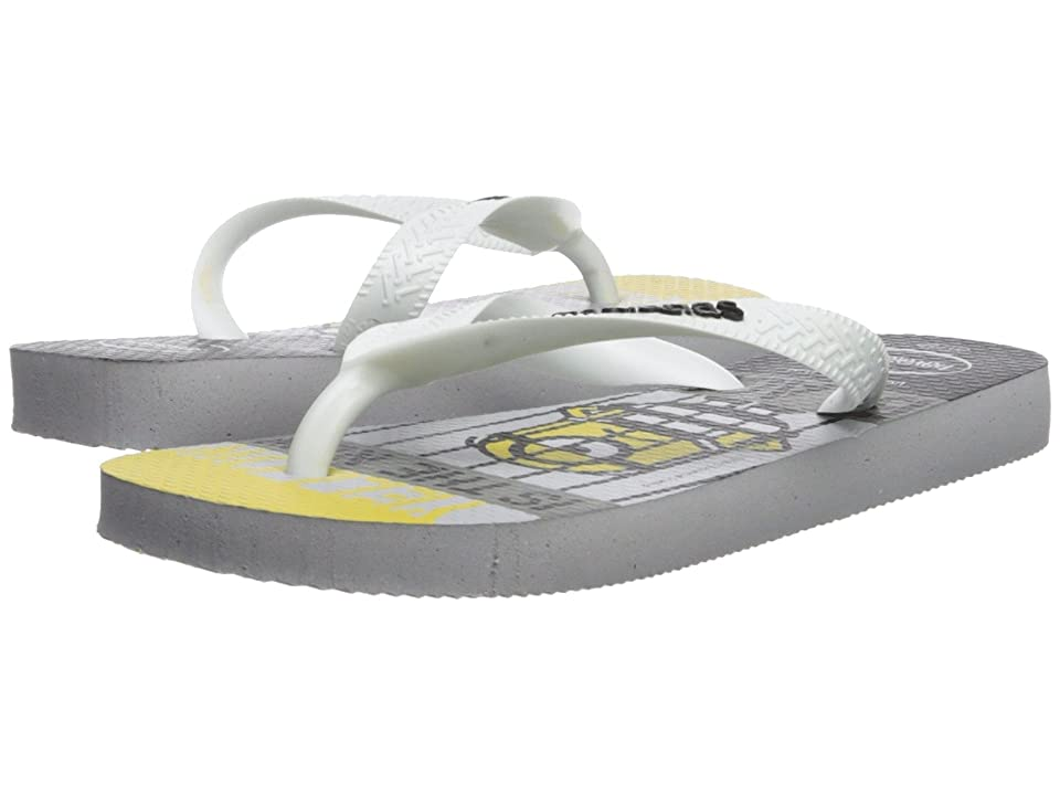 Havaianas Kids Minions Flip-Flop (Toddler/Little Kid/Big Kid) (Ice Grey) Kids Shoes