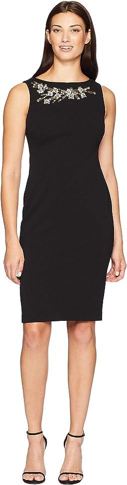 Embellished Sheath Dress CD8C16RA