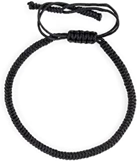 Dowling Brothers One Tibetan Monk Lucky Minimal Rope Buddhist Handmade Knot Bracelet …