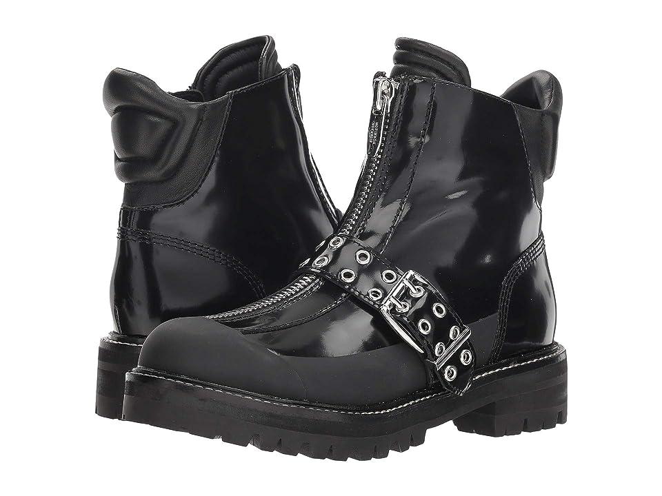 Sigerson Morrison Ipo (Black Leather/Rubber) Women
