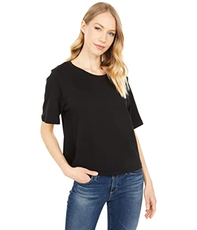 LAmade Crop Band Tee in Vintage Stretch Jersey