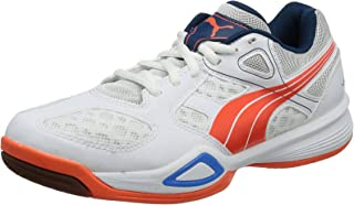 PUMA Virante Womens Indoor Court Trainers - Shoes - White