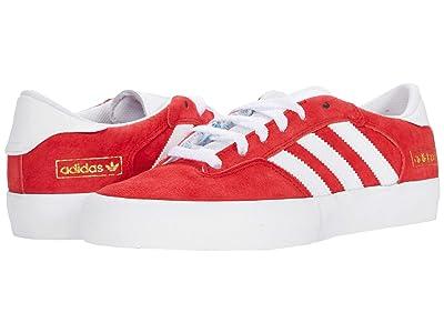 adidas Skateboarding Matchbreak Super (Scarlet/Footwear White/Gold Metallic) Shoes
