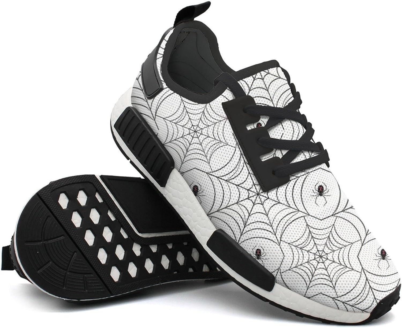 Spider Web Lights Women Comfortable Cool Design Running shoes Net Mens Guys