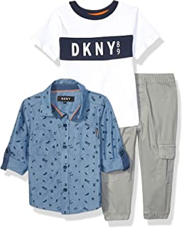DKNY Boys' 3 Piece Set