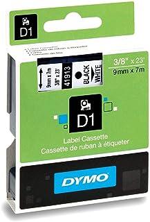 خرطوشة حبرD1 41913 لماكينات طباعة الباركود من ديمو، لطباعة سوداء على شريط ابيض، مقاس 9 ملم×7 متر، خرطوشة واحدة