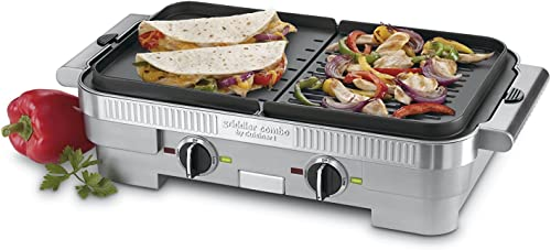 popular Cuisinart (CUIT8) popular GR-55FR wholesale Electric Grill, Brushed Stainless sale