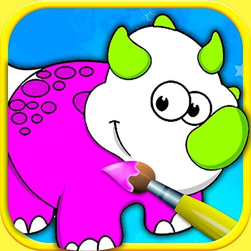 Libro de colorear para pintar con los dedos para niños y niños pequeños