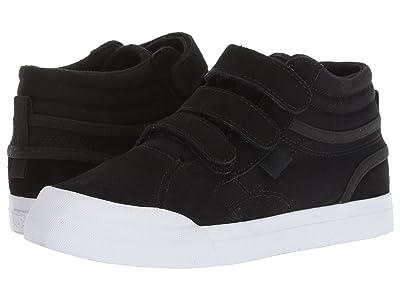 DC Kids Evan Hi V (Little Kid/Big Kid) (Black/White) Boys Shoes