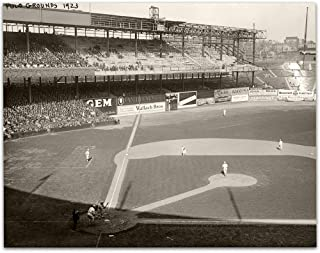 Lone Star Art The New York Giants at The Polo Grounds 1923 Photo - 11x14 Unframed Print - Perfect Vintage House Decor