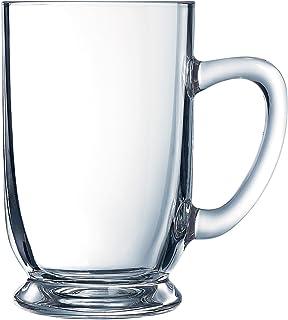 Arc International Luminarc Bolero Mug, 16-Ounce, Set of 4
