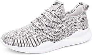 HIIGYL Schuhe Herren Sneakers Laufschuhe Turnschuhe Sportschuhe Leichtgewicht Atmungsaktiv EU 39-46