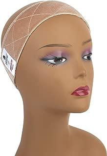 MainBasics Velvet Wig Grip Band Adjustable Wig Comfort Band, Beige
