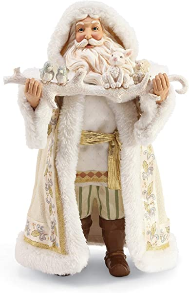 Department 56 Jim Shore Winter White 2019 Limited Edition Santa Figurine 12 Multicolor
