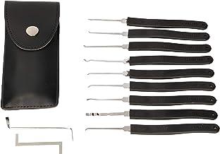 KOTARBAU® Lock-Picking Dietrich-set, vergrendelgereedschap, slotspanner, voor het oefenen van noodopenen van hangsloten en...