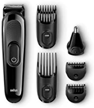 All-in-One Beard Trimmer for Men by Braun, MGK3020, Ear and Nose Hair Clipper Attachment, 4 Combs with 13 Precision Length...