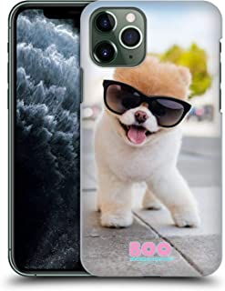 Official Boo-The World's Cutest Dog Pose Sunglasses Hard Back Case Compatible for iPhone 11 Pro