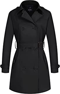 dress with black coat