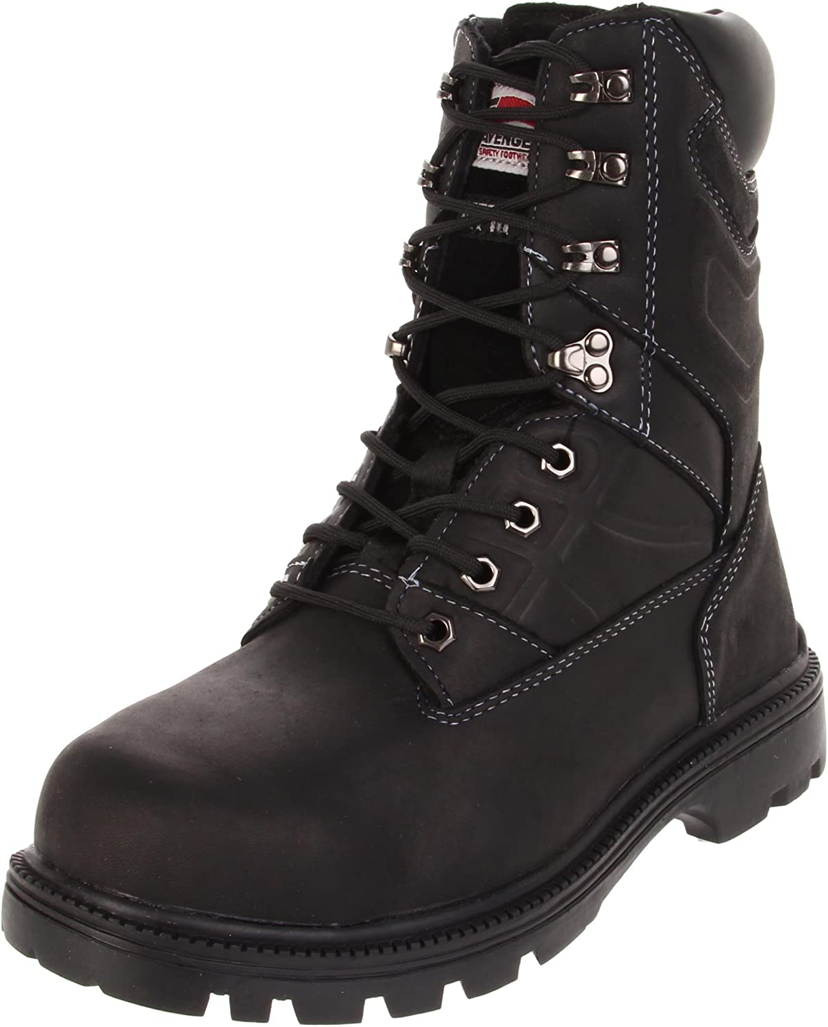 Avenger 7310 10  Leather  Safety Toe EH Internal Met Guard High Heat Outsole Work Boot