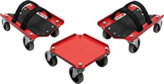 Extreme Max 5800.0228 V-Slides Snowmobile Dolly System, Powdercoated Steel