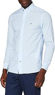 Tommy Hilfiger Peached Soft Poplin Shirt Camisa para Hombre