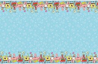 SpongeBob SquarePants Rectangular Plastic Tablecover - 1 Pc