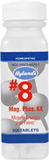 Hylands Magnesia Phosphorica 6X Cell Salt Tablet - 500 per pack - 3 packs per case.