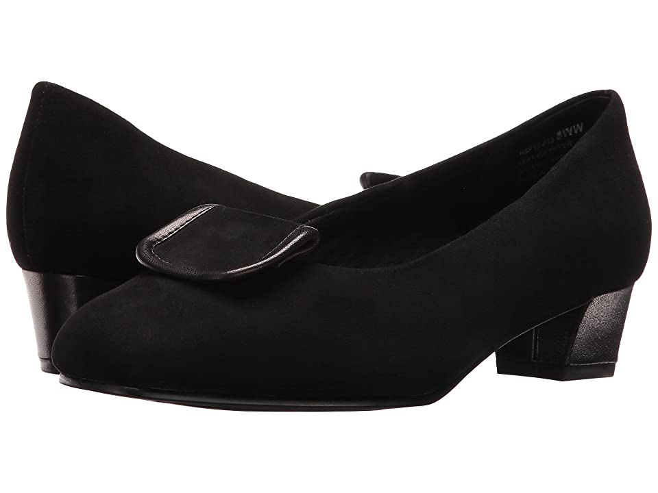 David Tate Ariana (Black Suede) Women