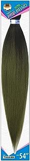 Afreezm Pre-Color Braids 3 PACK (TT1B/OLIVE GREEN)