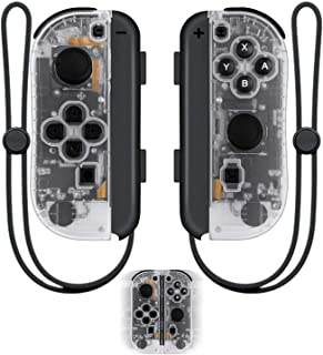 SINGLAND JoyCon Wireless Controllers Replacement for Nintendo Switch,Left/Right Remote Controller with Wrist Straps Suppor...
