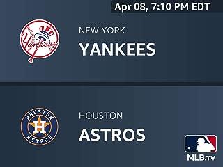 New York Yankees at Houston Astros