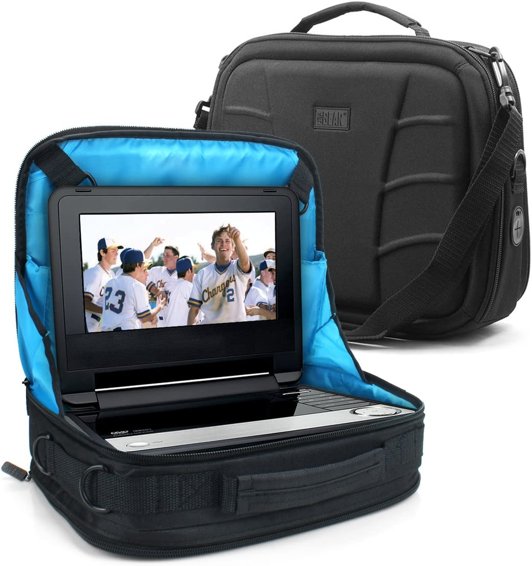 USA Gear Portable Soldering DVD Player Headrest Case St Car sold out Mount Display