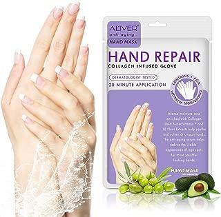 Hand Peel Mask 3 Pack,Moisturizing Hand Mask Gloves for Dry Hands, Hand Spa Treatment Gloves Moisturizing, Exfoliating Hand Peeling Mask, Repair Rough Skin Remove Dead Skin.
