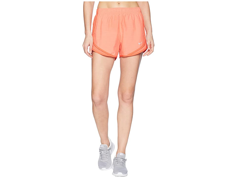 Nike Dry Tempo Short (Rush Coral/Rush Coral/Wolf Grey) Women