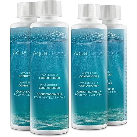 Aqua Sense Lot de 4 conditionneurs de lit à eau - 250 ml - Convient pour tous les matelas à eau