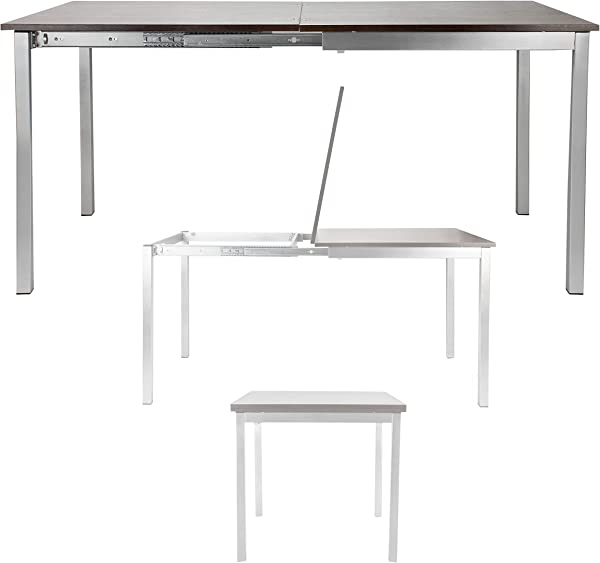 SpaceMaster Corner Housewares Easy Slide Dining Table One Size