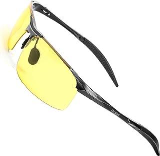 63890f8c386 MEWAY Men s Fashion Driving Polarized Sunglasses for Men UV Protection  Al-Mg Metal Frame Ultra