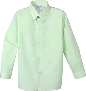 baby green dress shirt