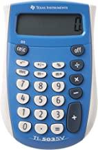 Texas Instruments TI-503 SV 503SV/FBL/2L1 Standard Function Calculator