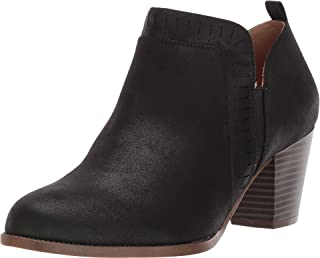 LifeStride womens Jovie Ankle Boot, Black, 8.5 Wide US